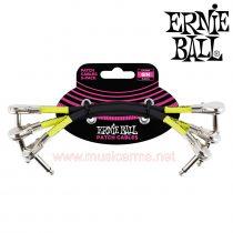 งเอฟเฟค ERNIE BALL PATCH CABLES 6FT หัวแบน
