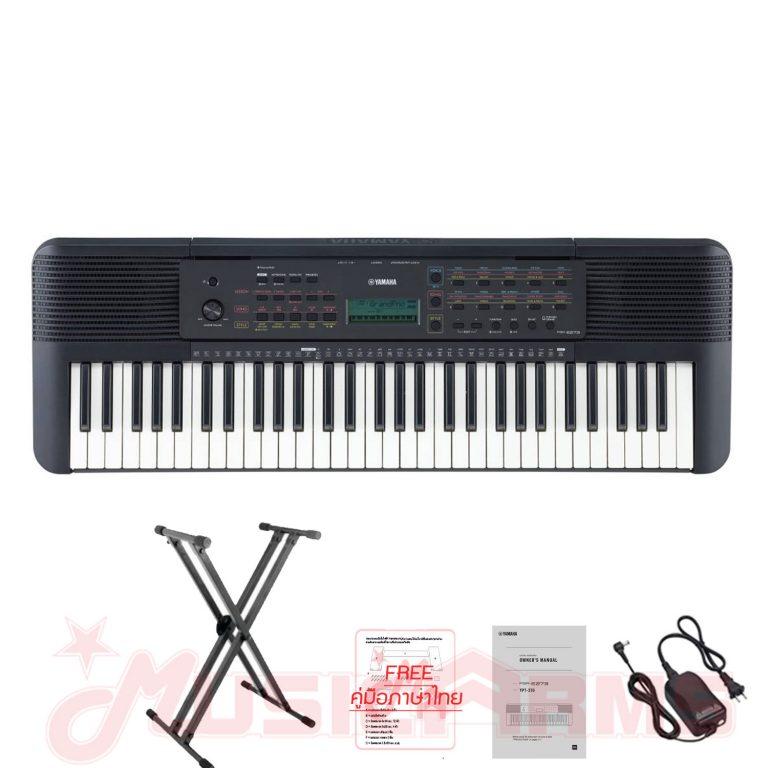 Cover-keyboard Yamaha psr-e273 คีย์บอร์ด ขายราคาพิเศษ