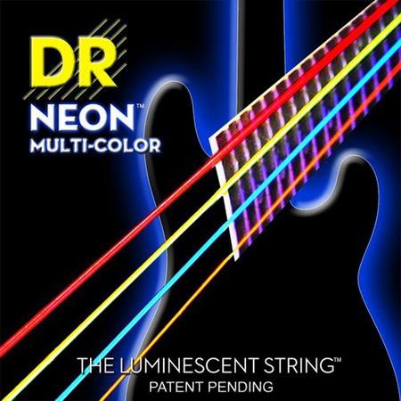 DR Neon Hi-Def Multi Color 4 Bass Strings ขายราคาพิเศษ