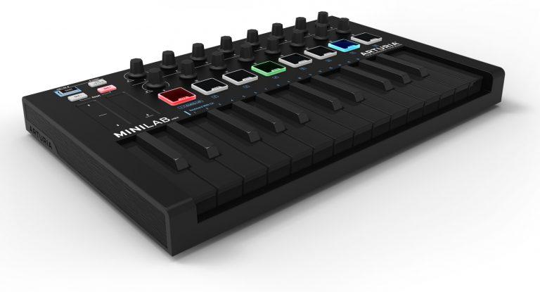 arturia-minilab-mkii-deep-black ขายราคาพิเศษ