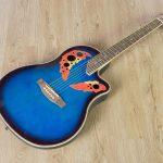 กีต้าร์โปร่ง Gusta TG10E II Blue ขายราคาพิเศษ