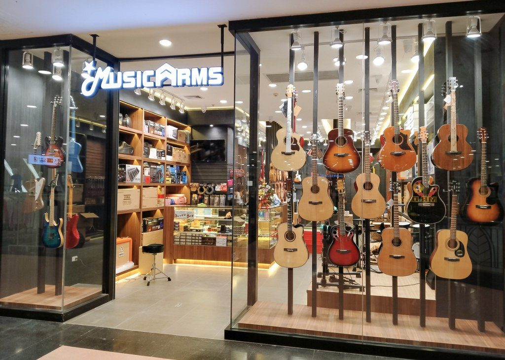 ร้านขายเครื่องดนตรีโคราช