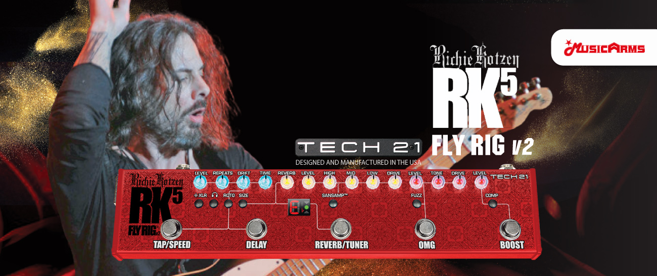 Tech 21 Richie Kotzen RK5 Signature Fly Rig v2