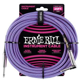 สายแจ็ค ERNIE BALL 10 FEET BRAIDED STRAIGHT ขายราคาพิเศษ