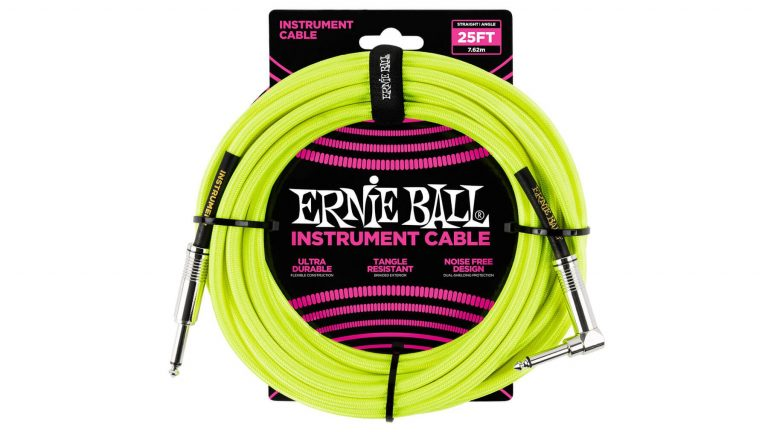Ernie Ball Instrument Cable ขายราคาพิเศษ