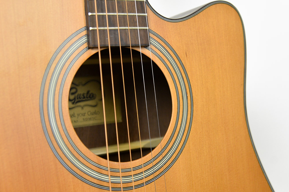 Gusta SDM5C String guitar