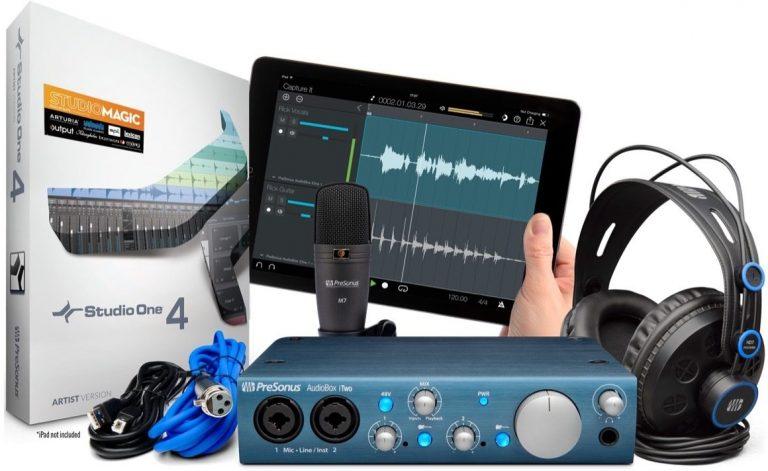 PreSonus AudioBox iTwo Studio ขายราคาพิเศษ