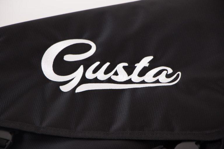 กระเป๋าเบส Gusta บุกำมะหยี่หนา 1.5 นิ้ว โลโก้ ขายราคาพิเศษ