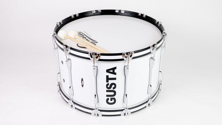 กลองใหญ่มาร์ชชิ่ง Gusta 26นิ้ว 12หลัก Marching Bass Drum ขายราคาพิเศษ