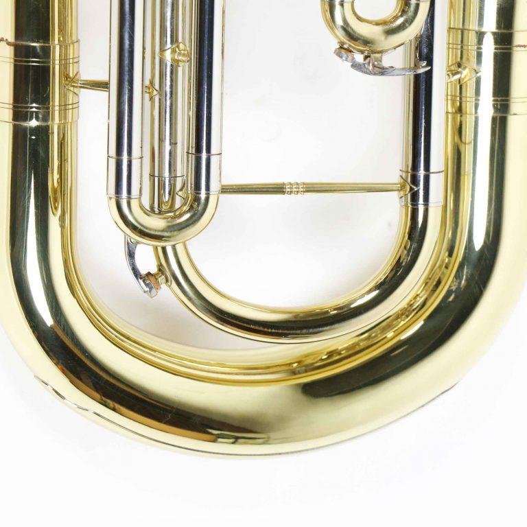 ยูโฟเนียม Marching euphonium Coleman Standard ด้านล่าง ขายราคาพิเศษ