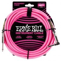 สายแจ็ค ERNIE BALL 18 FEET BRAIDED STRAIGHT
