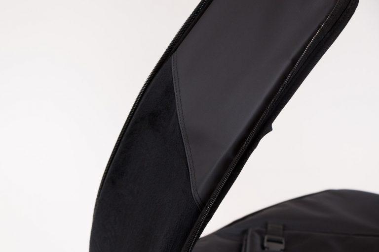 BG white กระเป๋า เบส Gusta กำมะหยี่ หนา 1.5 นิ้ว ด้านข้าง ขายราคาพิเศษ