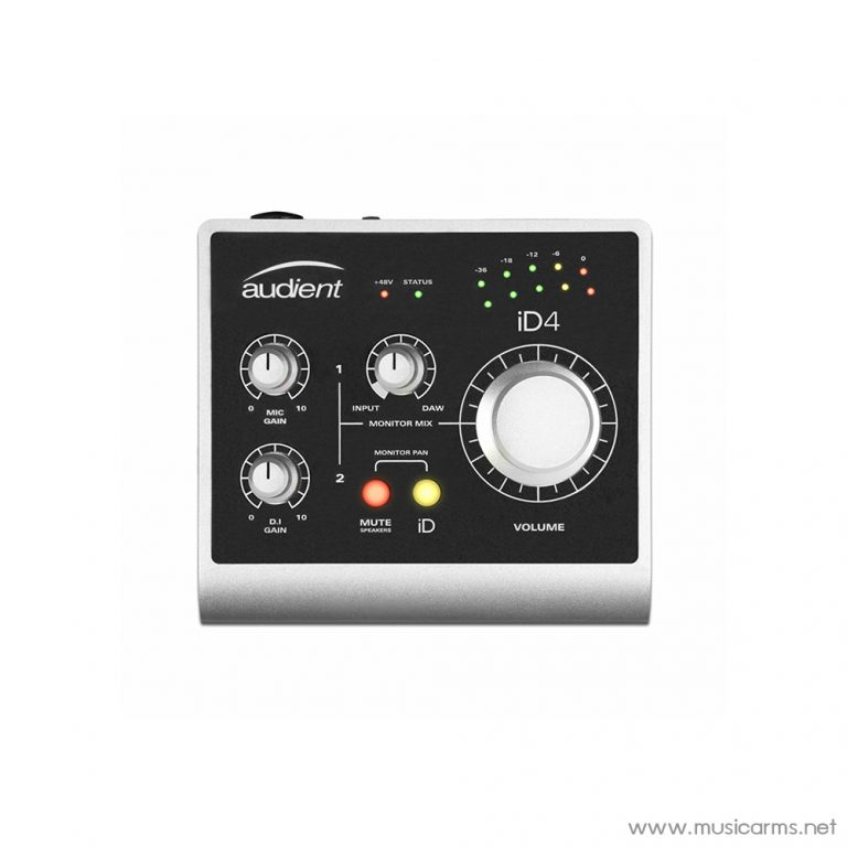 Face cover Audient-iD4-–-2in--2out-Audio-Interface ขายราคาพิเศษ