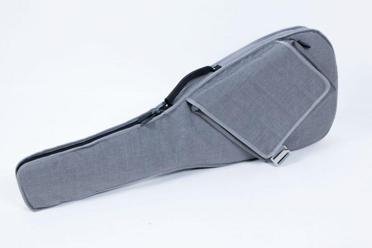 กระเป๋ากีต้าร์ไฟฟ้า 41 นิ้ว Gusta DB-30MM ด้านข้างกระเป๋า ขายราคาพิเศษ