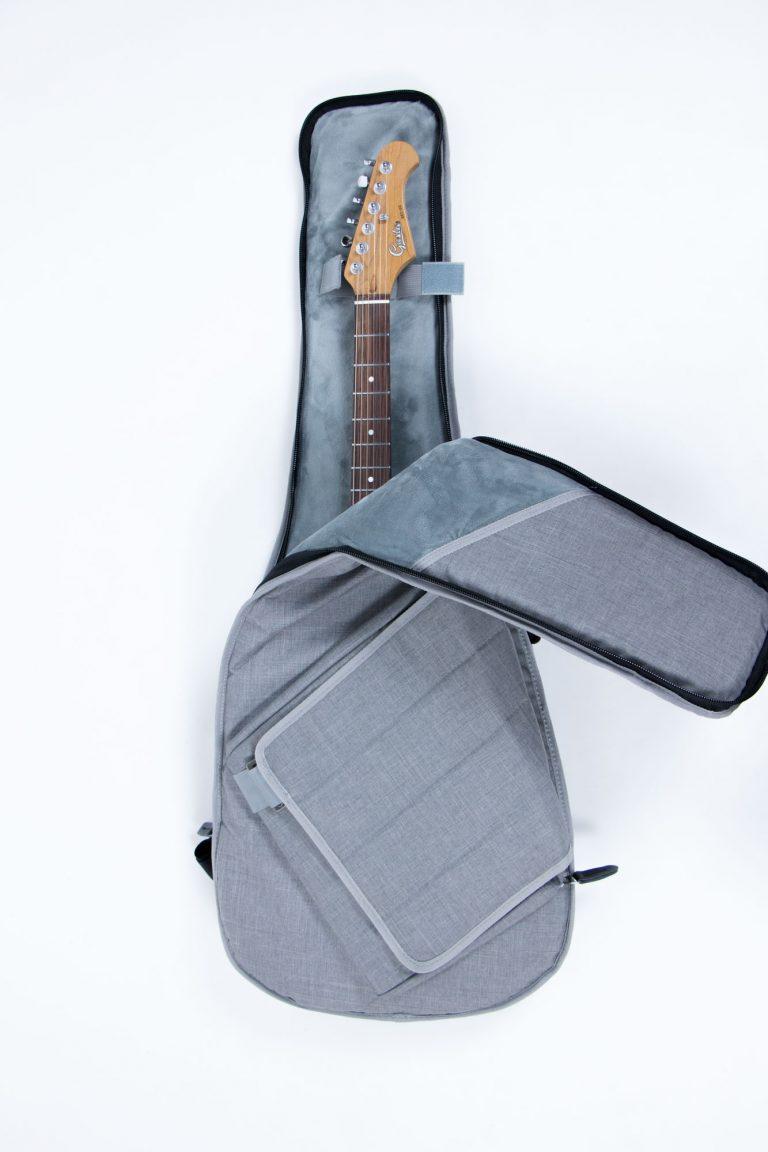 กระเป๋ากีต้าร์ไฟฟ้า 41 นิ้ว Gusta DB-30MM เปิดกระเป๋า ขายราคาพิเศษ