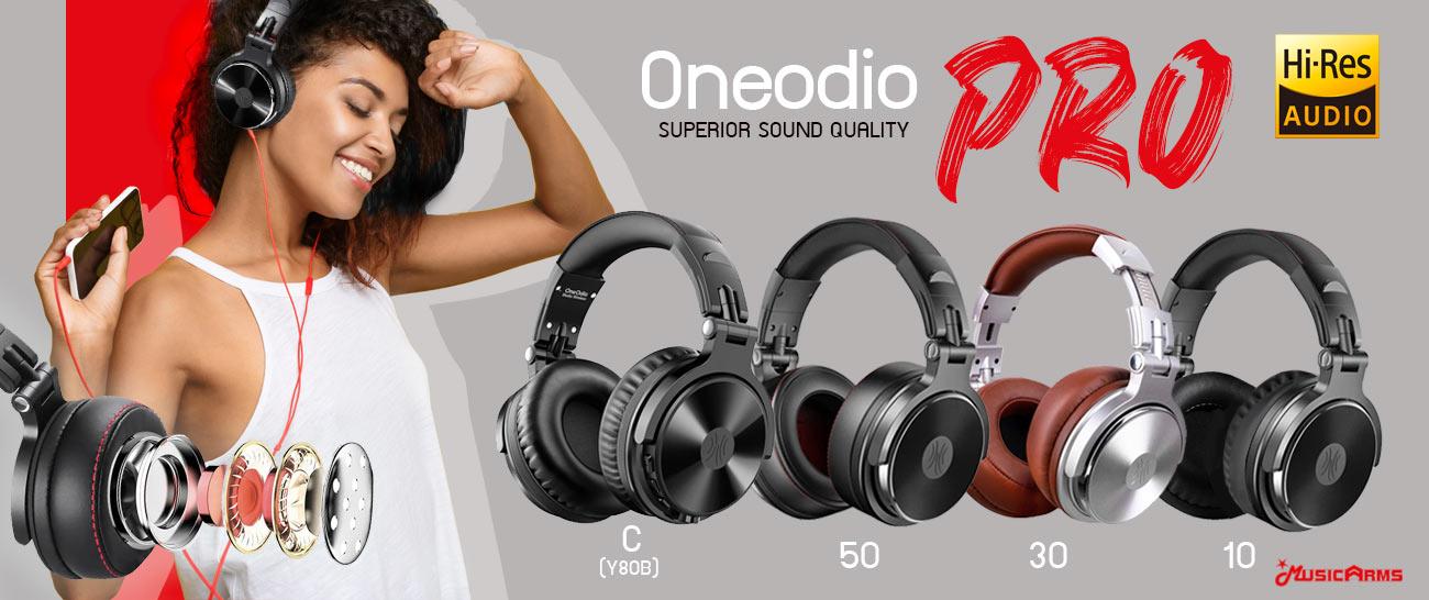 หูฟัง OneOdio PRO C Wired & Wireless Headphones (Y80B) Bluetooth