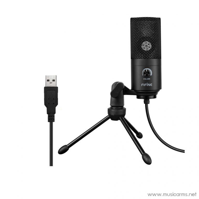 Face cover ไมโครโฟน-FIFINE-K669B-USB-Microphones ขายราคาพิเศษ