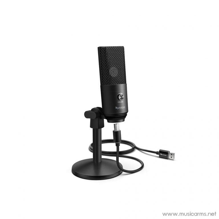 Face cover ไมโครโฟน-FIFINE-K670B-USB-Microphones ขายราคาพิเศษ