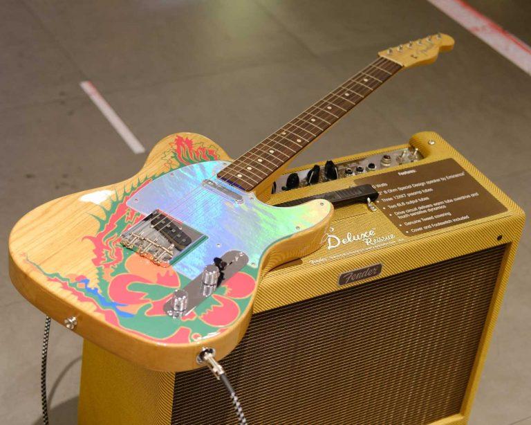 Showcase กีต้าร์ไฟฟ้า Fender Jimmy Page Telecaster