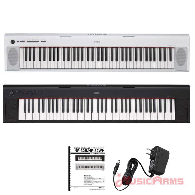 Full-Cover-keyboard-Yamaha-Piaggero-NP-32 ขายราคาพิเศษ