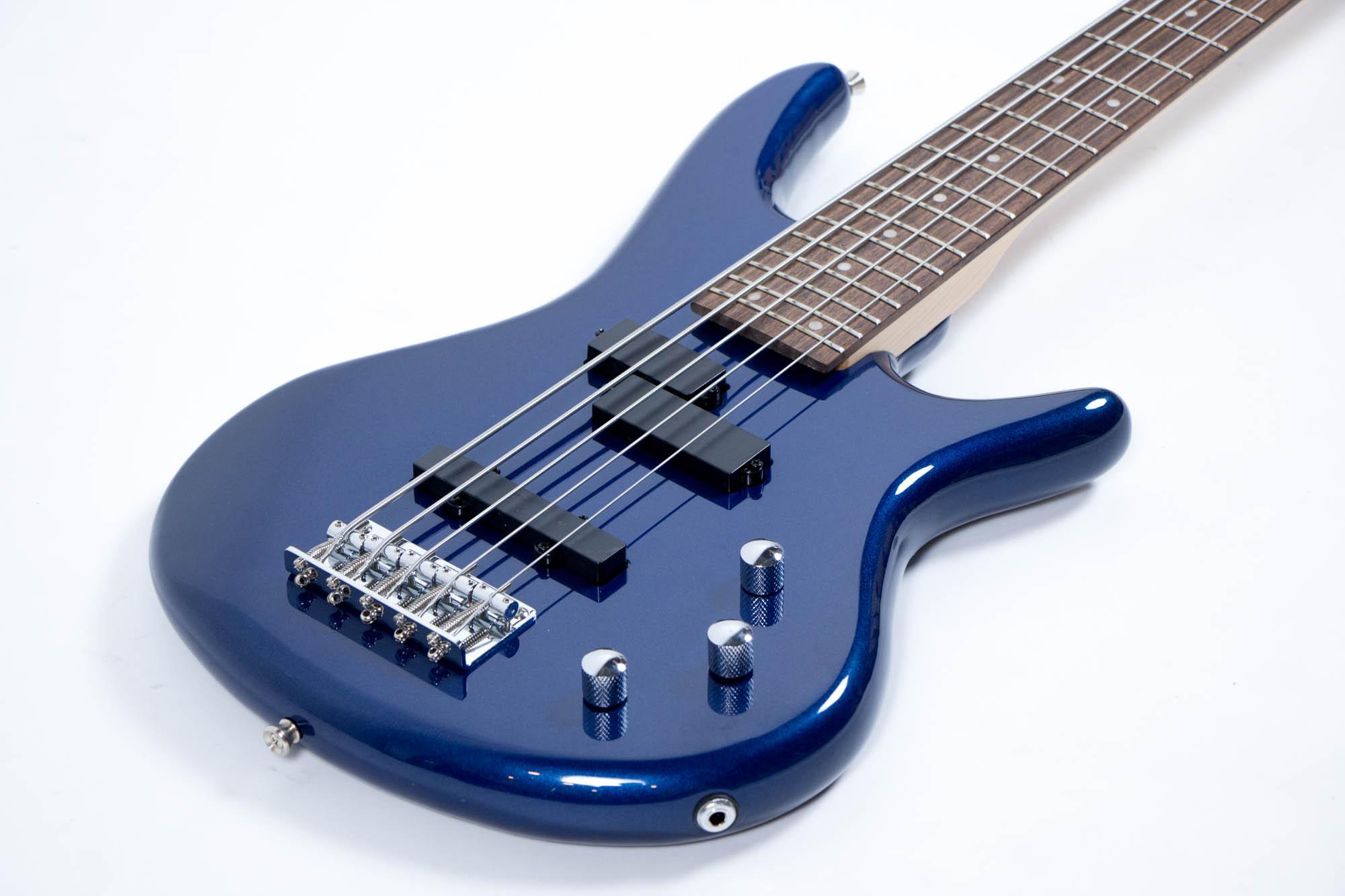 เบส Gusta bass GIB5-01 BL ด้านข้าง
