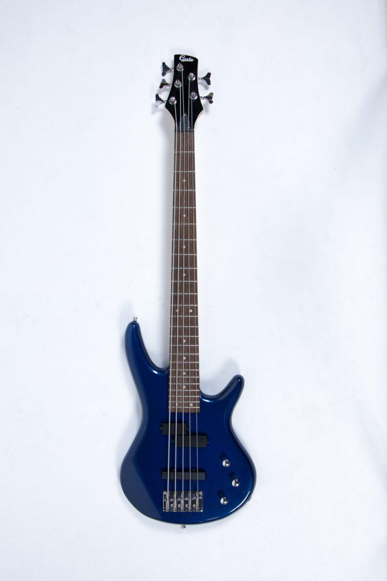 เบส Gusta bass GIB5-01 BL ด้านหน้า ขายราคาพิเศษ