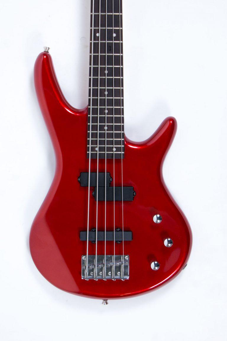 เบส Gusta bass GIB5-01 RD หน้าตรง ขายราคาพิเศษ