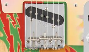 Top-Loader bridge - Fender Jimmy Page Telecaster