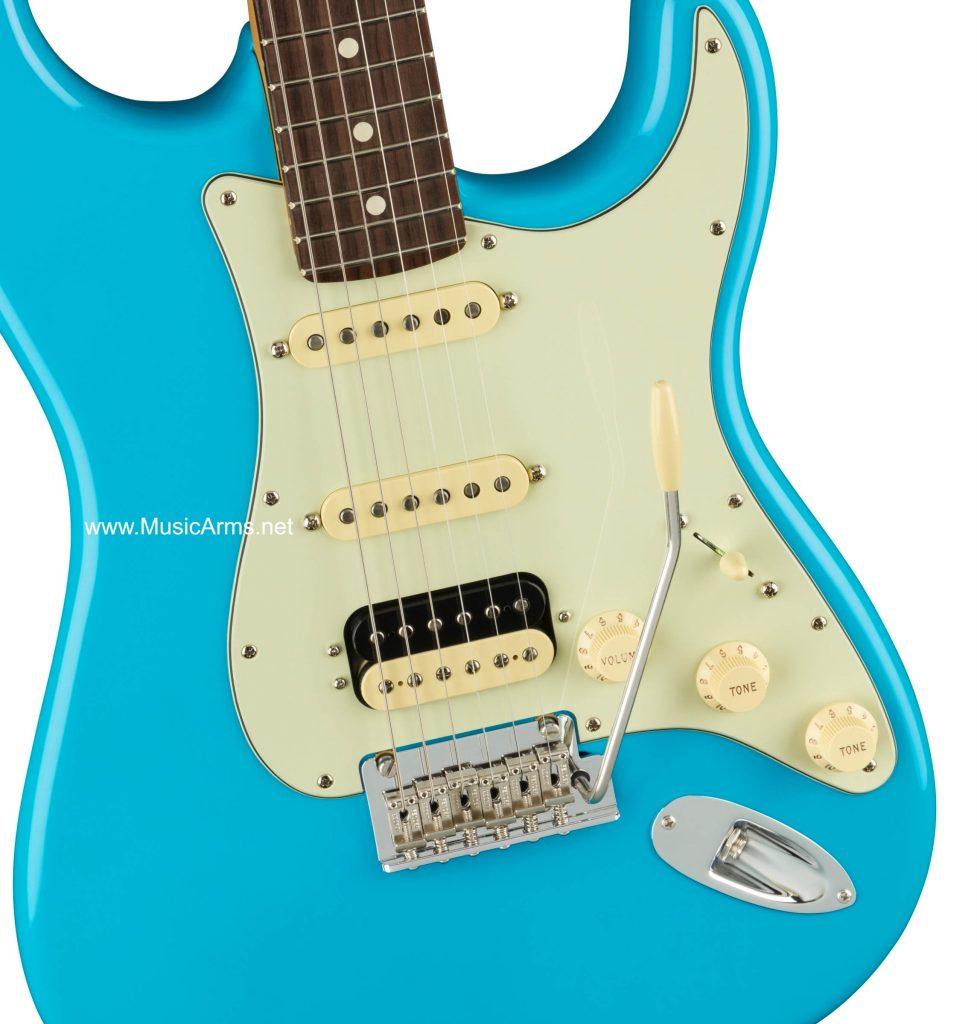 กีต้าร์ไฟฟ้า Fender American Professional ll Stratocaster HSS Stratocaster Miami Blue Rosewood ปิ๊กอัพ