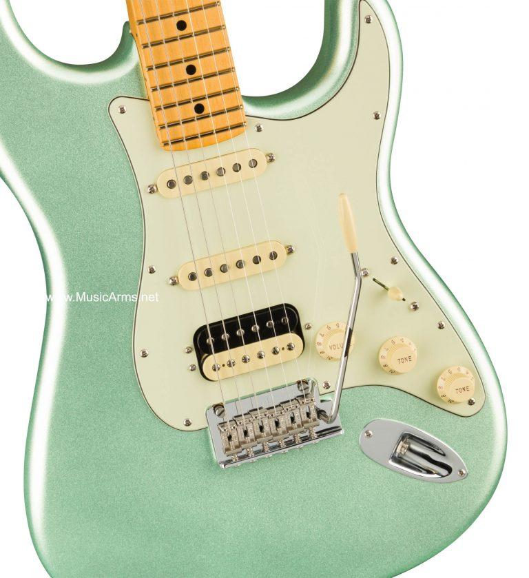 กีต้าร์ไฟฟ้า ปิ๊กอัพ Fender American Professional ll Stratocaster HSS Stratocaster Mystic Surf Green Maple ขายราคาพิเศษ