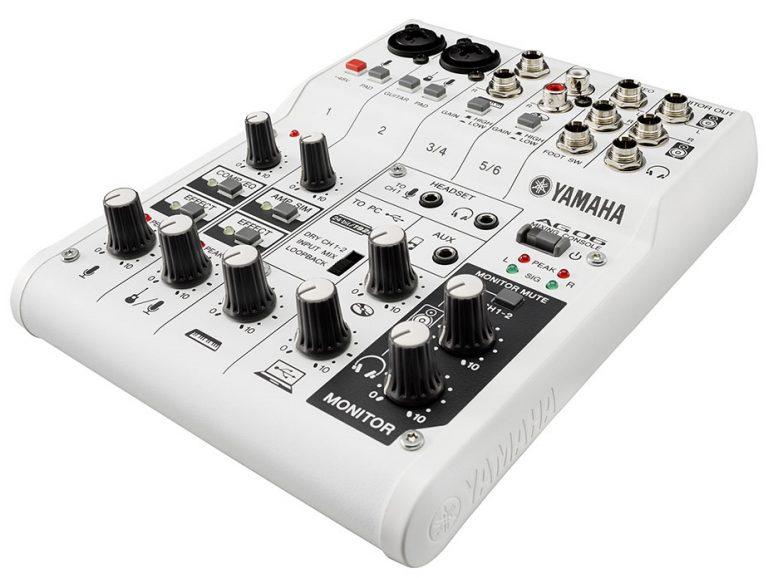 Yamaha AG06 Mixer ขายราคาพิเศษ