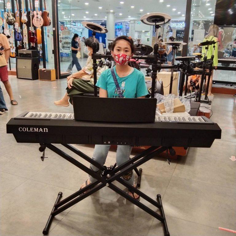 ลูกค้าที่ซื้อ เปียโนไฟฟ้า Coleman P105 ฟรีไฟล์คู่มือภาษาไทย