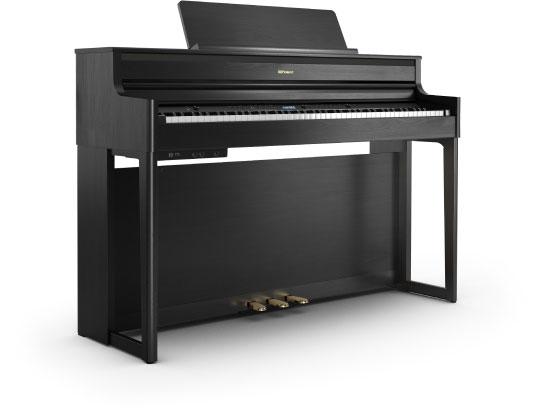 เปียโนไฟฟ้า Roland HP-704 Charcoal Black ดีไหม ขายราคาพิเศษ