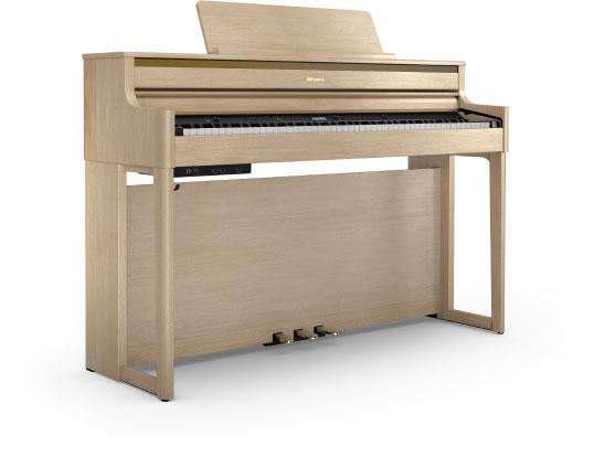 เปียโนไฟฟ้า Roland HP-704 Light Oak ดีไหม ขายราคาพิเศษ