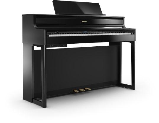 เปียโนไฟฟ้า Roland HP-704 Polished Ebony ราคา ขายราคาพิเศษ