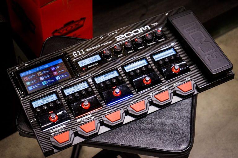 Showcase เอฟเฟคมัลติ Zoom G11 Multi-Effects Processor