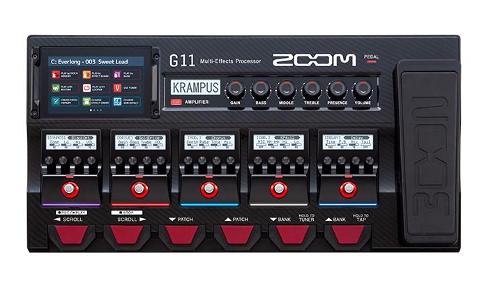 Zoom G11 Multi Effects ขายราคาพิเศษ