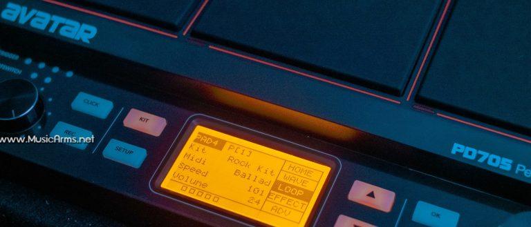 Avatar PD705 Percussion Pad ดิจิทอลหน้าจอ ขายราคาพิเศษ