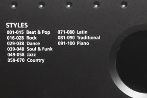 Kurzweil KP70 Styles