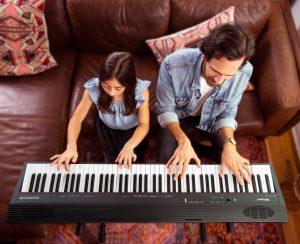 Rolan Go piano 88 การเล่น