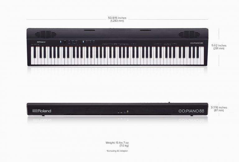 Rolan Go piano 88 ขนาด ขายราคาพิเศษ