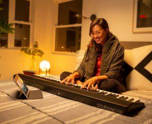 Rolan Go piano 88 สาธิตการเล่น