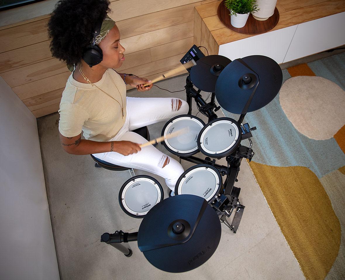 TD-07KV Electronic Drumming performance
