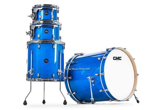 CMC Remix Blue Metallic Drum set ขายราคาพิเศษ