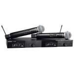 ไมโครโฟน SHURE SLXD24DA/SM58-M55 ไมโครโฟนไร้สายแบบไมค์คู่ คลื่นความถี่ 694-703 MHz และ 748-758 MHz ลดราคาพิเศษ