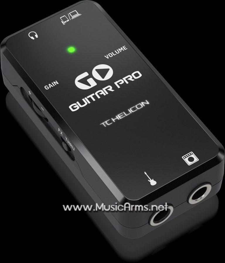 ออดิโอ อินเตอร์เฟส TC Helicon Go Guitar Pro ขายราคาพิเศษ