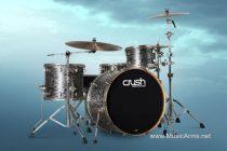 CRUSH SUBLIME AXM-High Gloss White wSilver Spkl