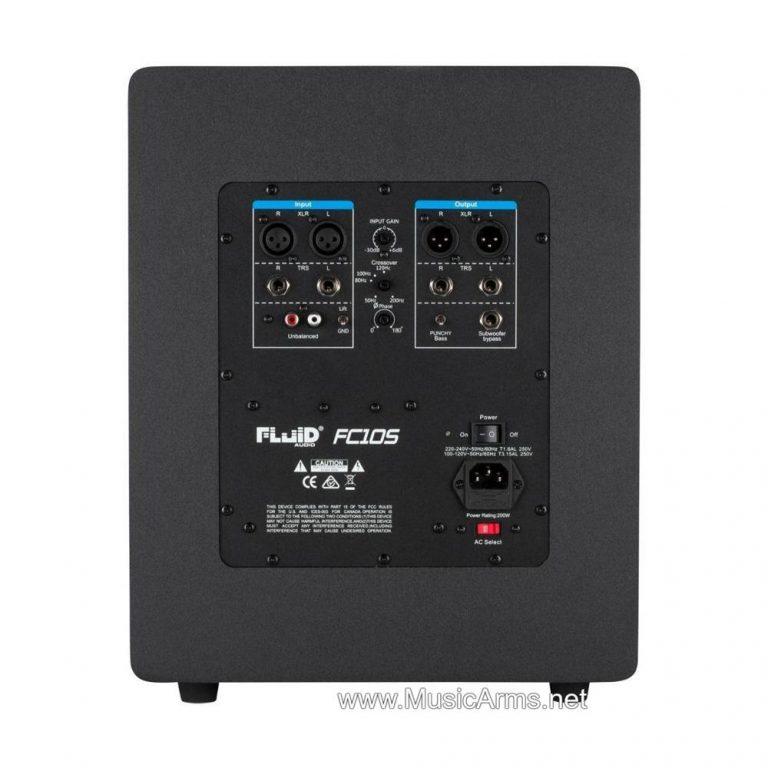 Fluid Audio FC10S Subwoofer-หลัง ขายราคาพิเศษ