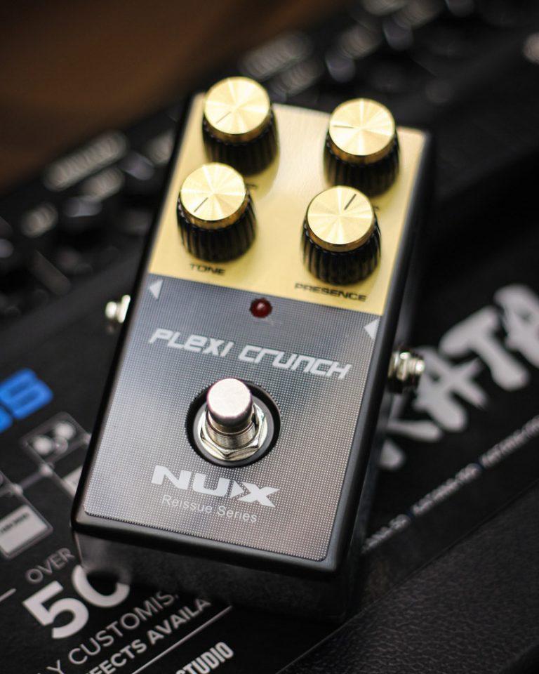 Showcase Nux Plexi Crunch Guitar Effect