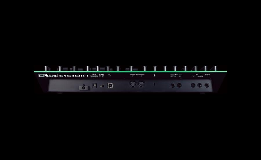 Roland SYSTEM-1 ความหนา